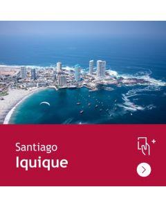 Gift Travel Card - Descuento de $31.500 para ruta Santiago / Iquique (ida y vuelta)