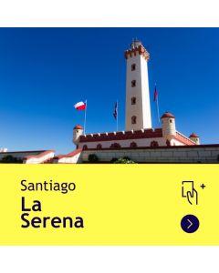 Gift Travel Card - Descuento de $8.500 para ruta Santiago / La Serena (ida y vuelta)