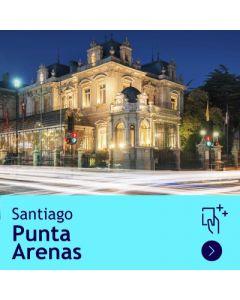 Gift Travel Card - Descuento de $31.500 para ruta Santiago/Punta Arenas (ida y vuelta)