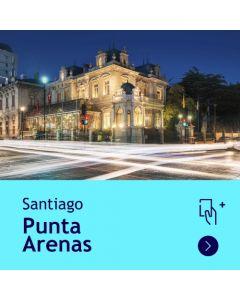 Gift Travel Card - Descuento de $5.500 para ruta Santiago / Punta Arenas (ida y vuelta)
