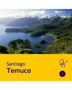 Gift Travel Card - Descuento de $31.500 para ruta Santiago / Temuco (ida y vuelta)