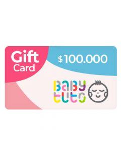 Gift Card $100.000 en Babytuto.com