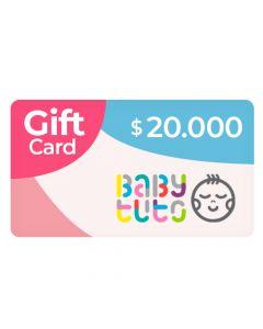 Gift Card $20.000 en Babytuto.com