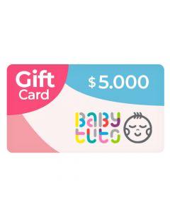 Gift Card $5.000 en Babytuto.com