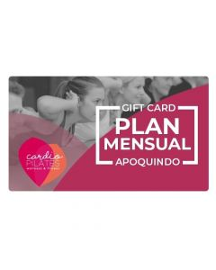 Gift Card Plan Anual Familiar (sólo Madre hija o hermana) en Cardiopilates Sede Apoquindo