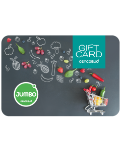 Gift Card $5.000 Jumbo - Santa Isabel Envía Cencosud Venta Empresa