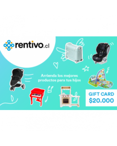 Gift Card $20.000 en Rentivo