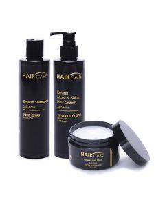 Triple Pack Hair Care Keratin Salt Free Hair Care
