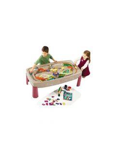 Mesa de Juegos Infantil Step2 Pista de Trenes HB754700
