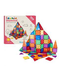 Juego Magnético Imanix Diamond Edition 100 Piezas