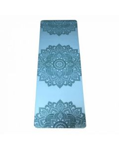 Mat Yoga Design Lab Infinity Mandala Aqua 5mm
