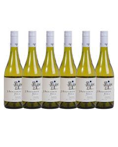 Pack 6 Vinos JBouchon Reserva Chardonnay 750cc