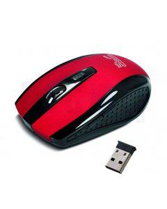 Mouse Inalámbrico KlipXtreme KMW-340RD Klever Red