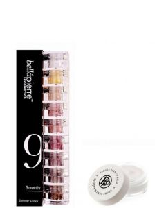 Kit Maquillaje Bellapierre Stack Shimmer Serenity Lip Balm