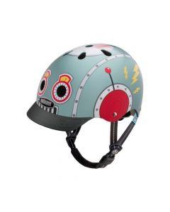 Casco Bicicleta Nutcase Little Nutty Tin Robot St. Helmet XS