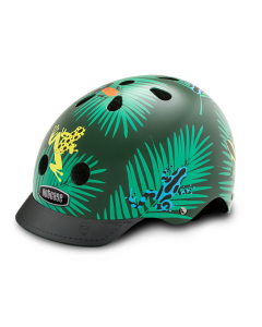 Casco Bicicleta Nutcase Little Nutty Dart Frog St. Helmet XS