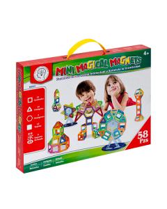 Juguete Magnético Magical Magnets M005 Mini 58 Piezas