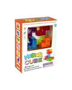 Juguete Magnético Magical Magnets M202 Cube 7 piezas
