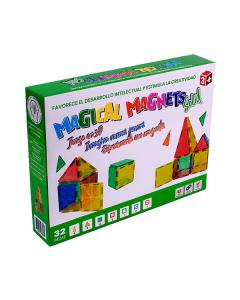 Juguete Magnético Magical Magnets M206 Solid 32 piezas
