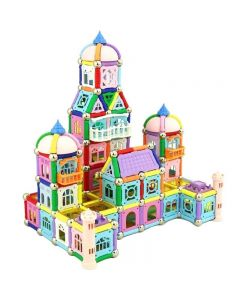 Castillo Magnético Educativo Buppi Toys 419PCS Multicolor