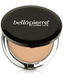 Base Maquillaje Bellapierre Compact Mineral Foundation Latte