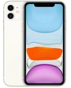 iPhone 11 64GB blanco (sin cargador ni EarPods)