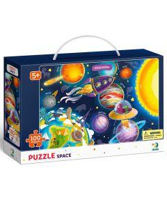 Puzzle Dodo Espacio 100 Piezas Azul
