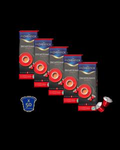 50 cápsulas descafeinadas Mövenpick para nespresso