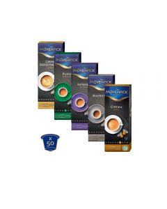 50 cápsulas mix Mövenpick para nespresso