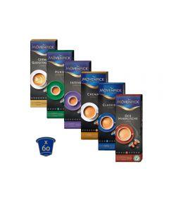 60 cápsulas Blend Mövenpick para nespresso