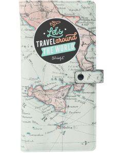 Porta Documento MR. WONDERFUL Let'S Travel Around The World