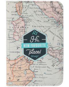 Porta Pasaporte MR. WONDERFUL Hi New Favourite Place