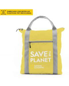 Bolso/Mochila NATIONAL GEOGRAPHIC Save The Planet Amarillo