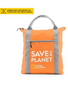 Bolso/Mochila NATIONAL GEOGRAPHIC Save The Planet Naranjo