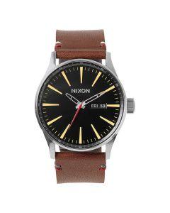 Reloj Análogo Nixon Sentry Negro