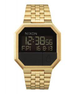 Reloj Digital Nixon Re-Run All Gold - 38.5 mm