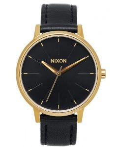 Reloj Análogo Nixon Kensington Leather Gold Black