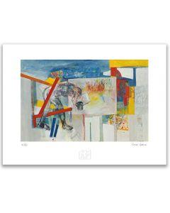 Omar Gatica - Unos minutos… Artefactory (Lámina) Imp. Giclée