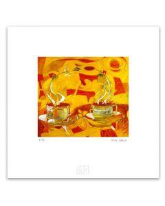 Omar Gatica - Cofeefloyd Artefactory (Lámina) I. Giclée