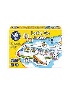 Juego de Lotto Orchard Toys Let's Go Amarillo