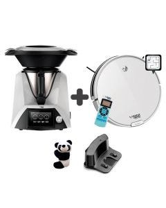 Robot Aspiradora + Robot de Cocina Mix Osoji  Dojo 950