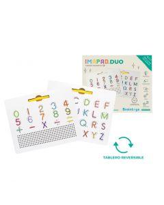 Juego Magnético Imapad Duo Letras y Números