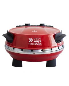 Horno Eléctrico Pizza Oven EasyWays Pizza Oven Rojo