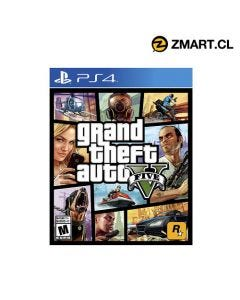 Grand Theft Auto GTA V PS4 en Zmart