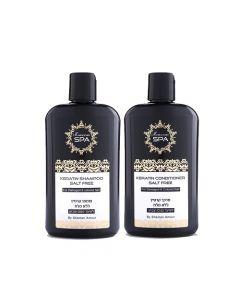 Pack PRO Shampoo + Acondicionador Cabello Dañado Keratin