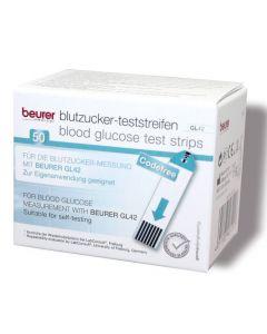 Cintas Reactivas Medidor de Glicemia Beurer Gl-42 Blanco