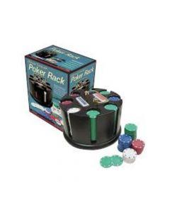 Juego de Salón Rack de Poker 200 Fichas