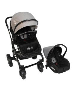 Coche Travel System Orleans Bebeglo RS-13650-4 Gris
