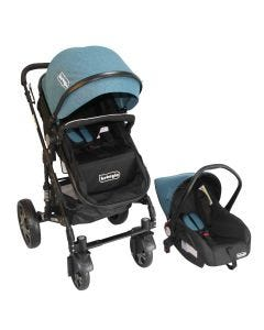 Coche Travel System Orleans Bebeglo RS-13650-6 Turquesa