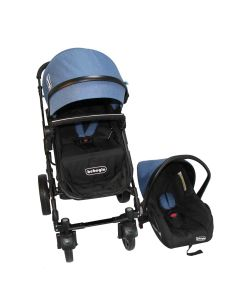 Coche Travel System Orleans Bebeglo RS-13650-7 Azul Rey